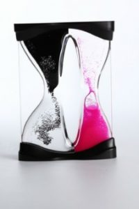 clock--design--sand-glass--pink
