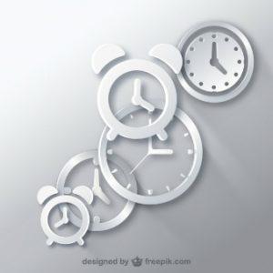 clocks-icon-vectors