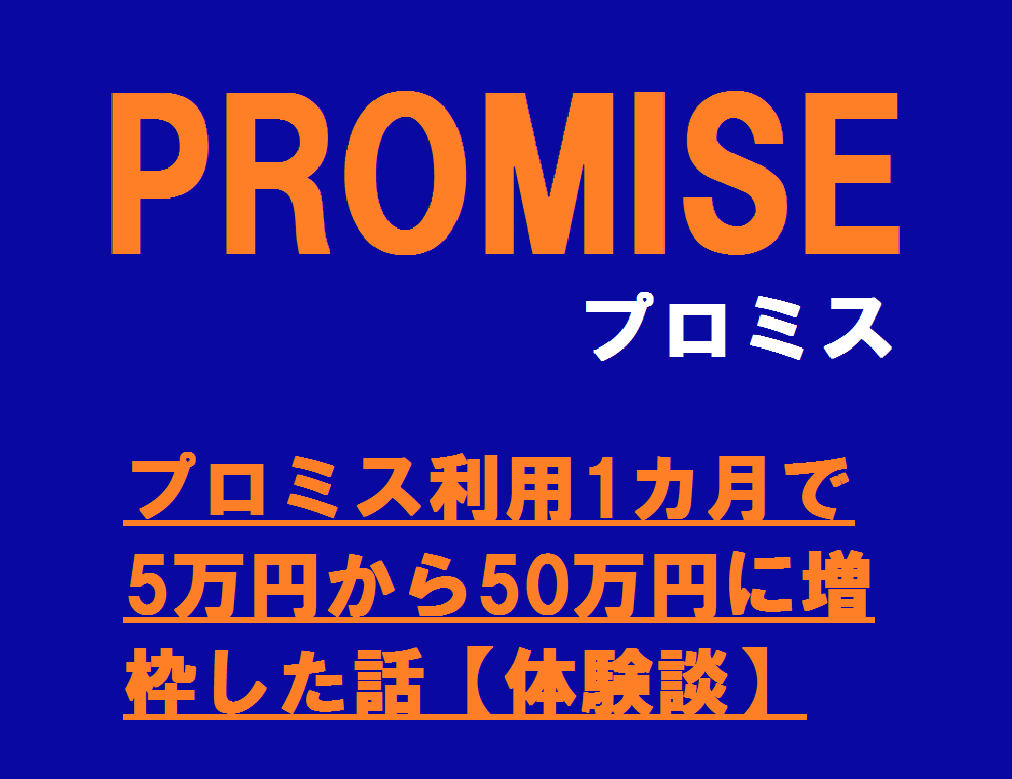 プロミス利用1カ月で5万円から50万円に増枠した話【体験談】